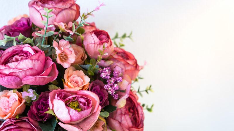Цветы на праздник